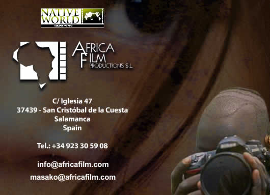 Contact Africa Film productions africafilm.com